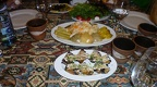 Armenian Food Esstisch